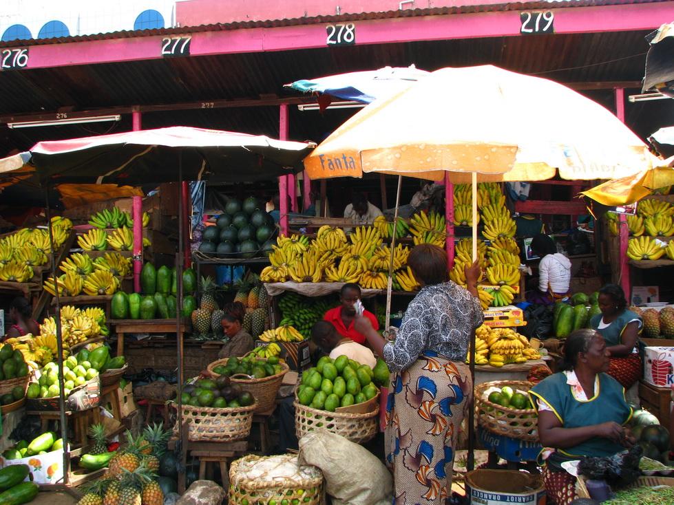 Kampala, pijaca