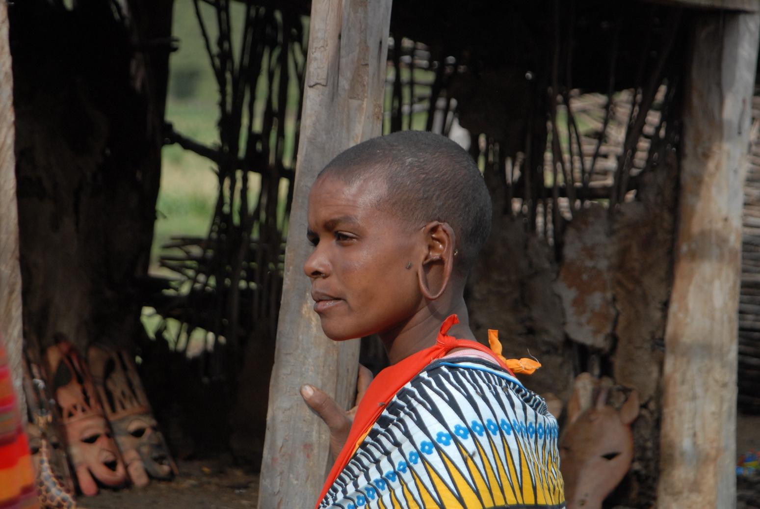 Maasai žena