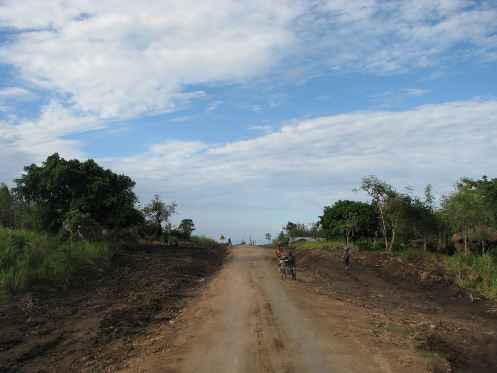 Put prema selu Ntandi