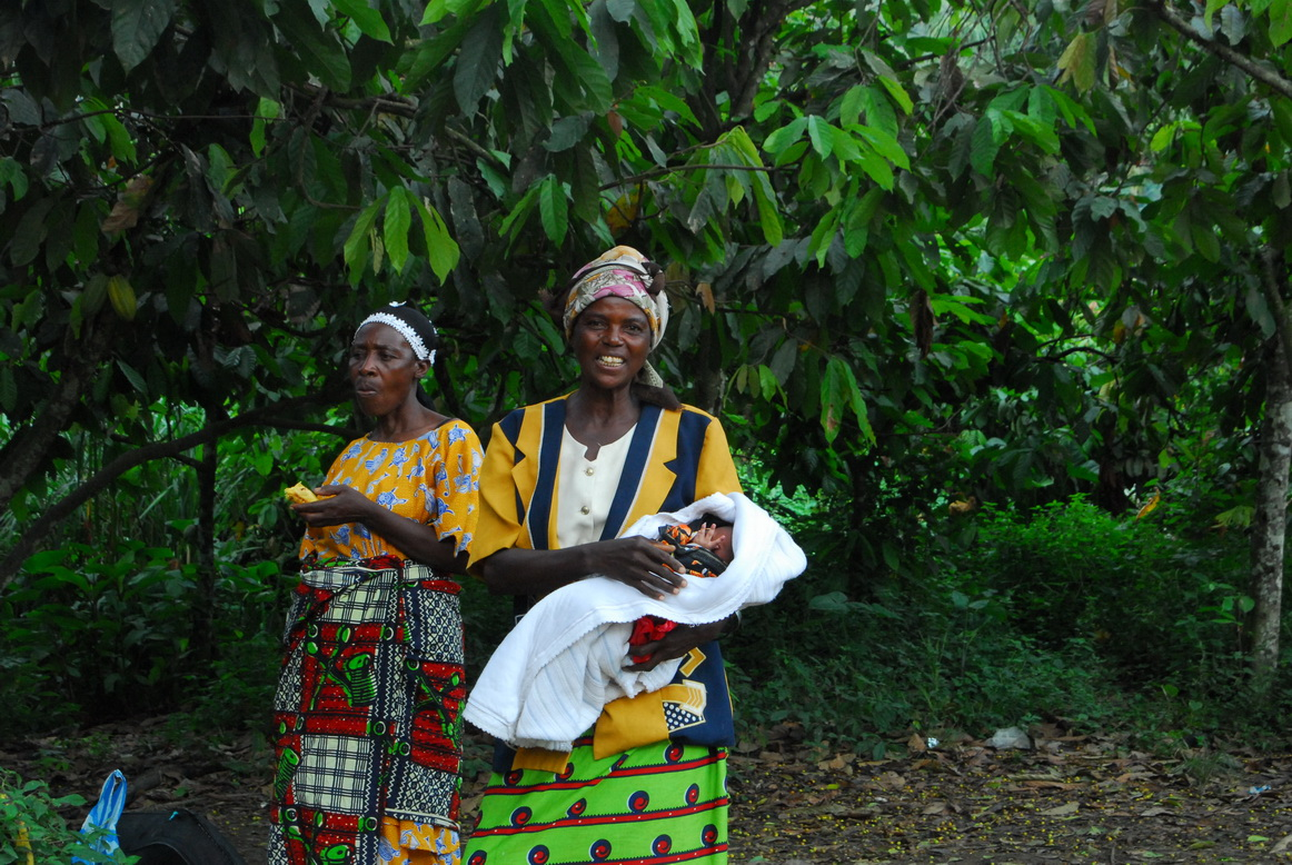 Okolina sela Ntandi