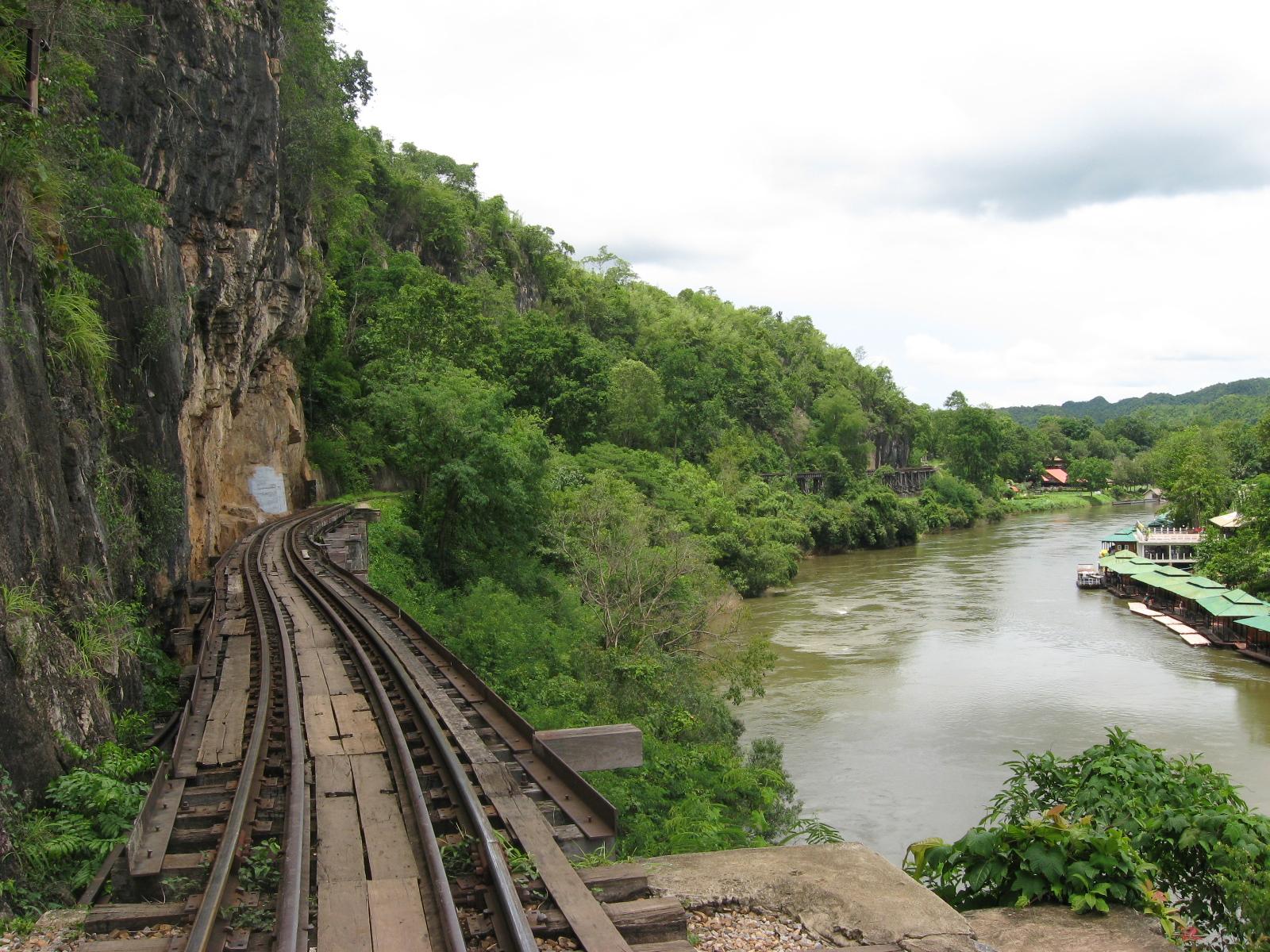 Pruga iz WWII, rijeka Kwai