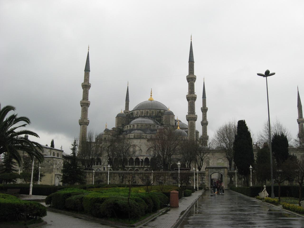 Plava džamija, Istanbul