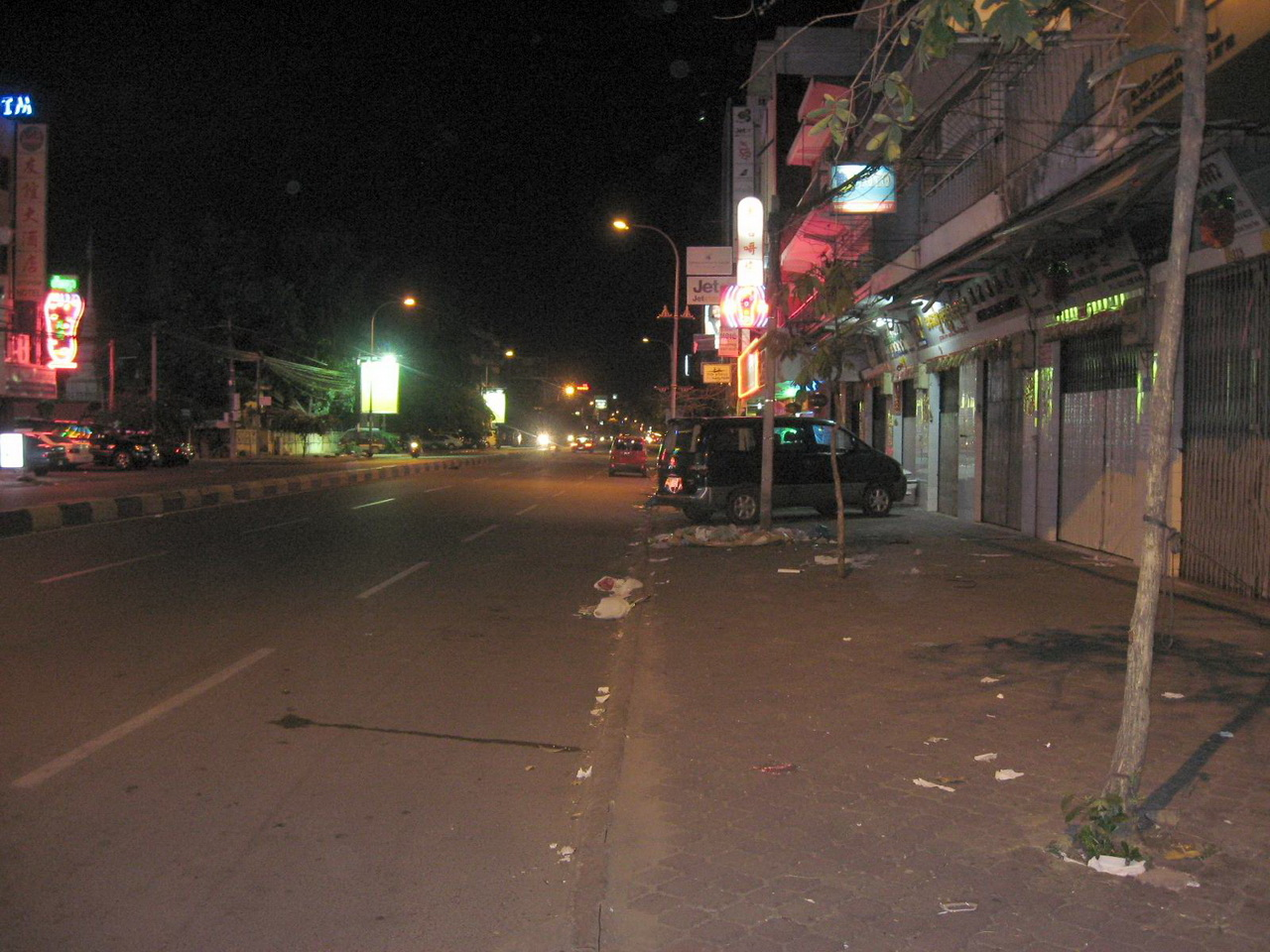 Phnom Penh noću