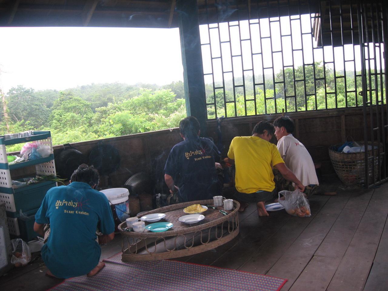 Spremanje ručka na osmatračnici