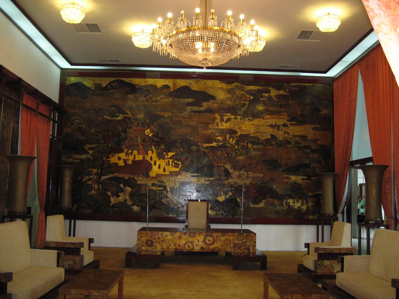 Unutrašnjost Palate nezavisnosti