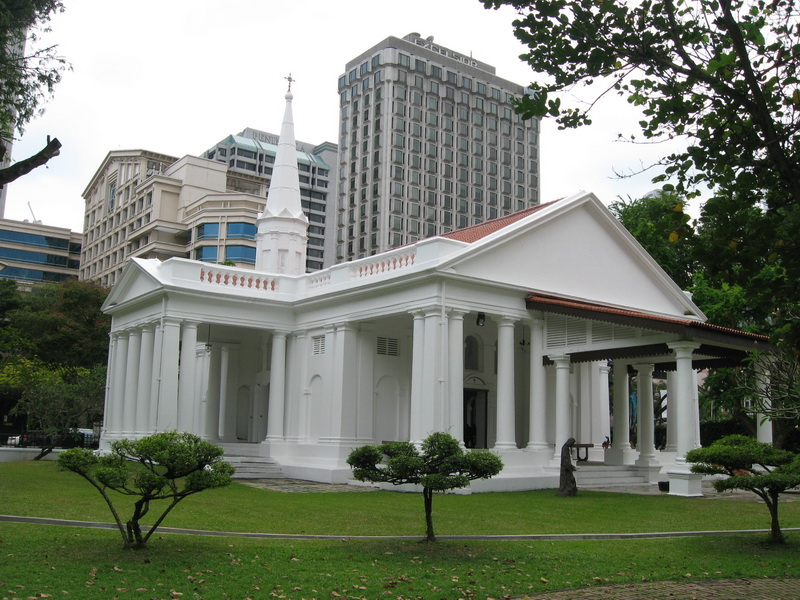 Singapore, Jermenska crkva 9