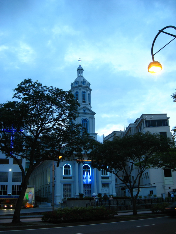 Singapore, crkva Sacred Heart 2