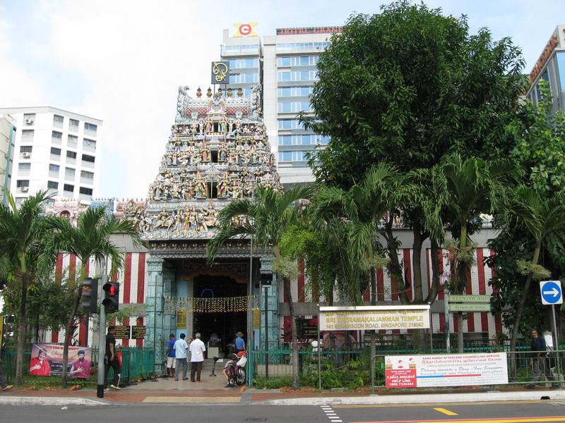 Singapore, hram Sri Veeramakallamman 1