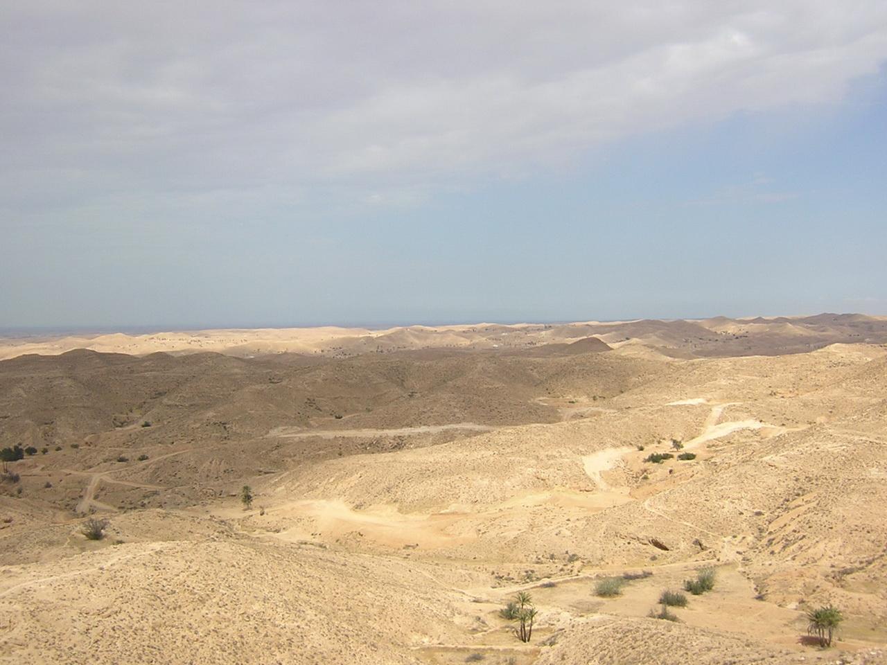 pustinjsko područje oko Matmate