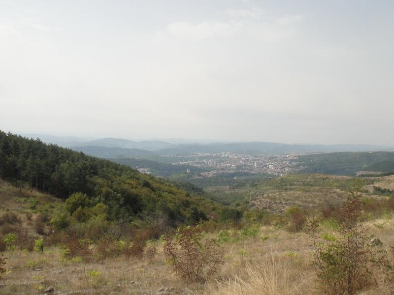 Pogled na grad iz Arbanasija