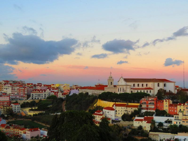 Pogled sa tvrđave São Jorge
