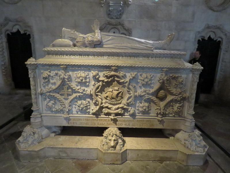 Mosteiro dos Jerónimos, Vasco da Gama